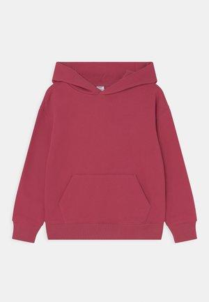 GOOD - Bluza z kapturem - raspberry glaze