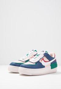 Nike Sportswear - AIR FORCE 1 SHADOW - Sneakers laag - mystic navy/white/echo pink - 6
