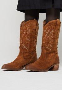 mtng - TEO - Cowboy/Biker boots - brown - 0