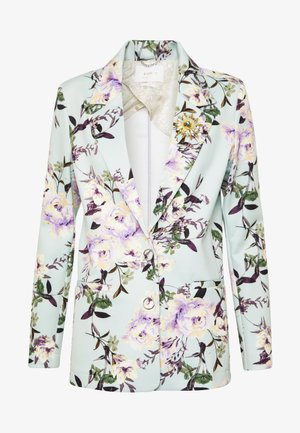 WITH FLOWER PRINT - Blazer - jade mint