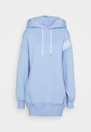 ERROR HOODIE DRESS - Vardagsklänning - baby blue