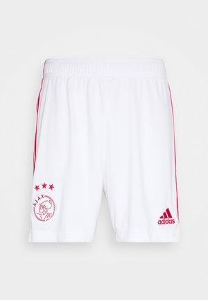 AJAX AMSTERDAM FOOTBALL - Krótkie spodenki sportowe - white