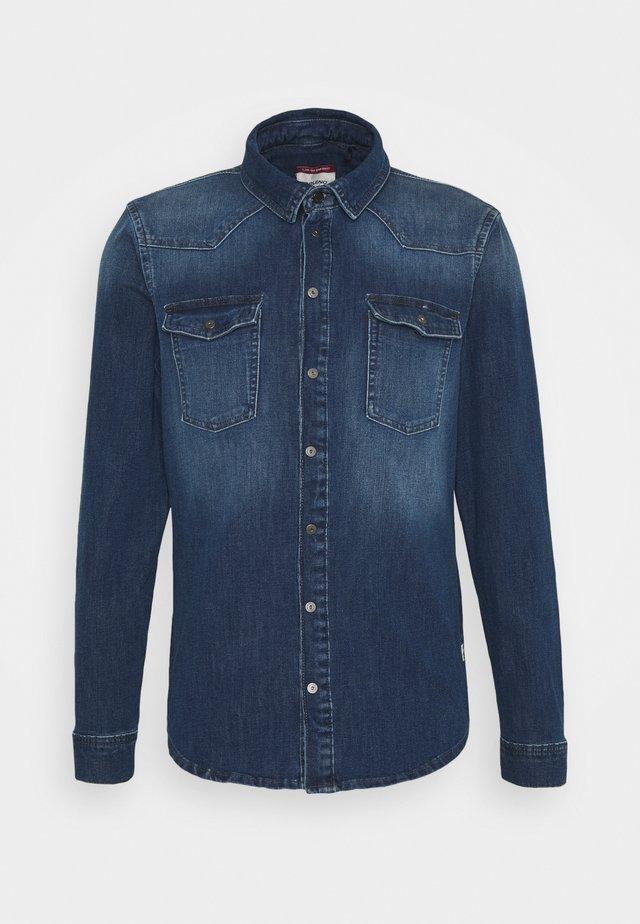 Skjorte - denim light blue