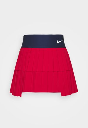 SKIRT PLEATED - Sports skirt - university red/binary blue/white