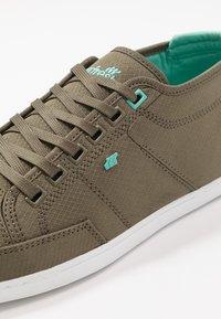 Boxfresh - SPARKO - Sneakers laag - khaki/turquoise - 5