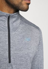 New Balance - FORTITECH QUARTER ZIP - Long sleeved top - lead - 5
