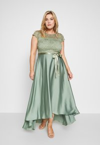 Swing Curve - EXCLUSIVE DRESS - Abito da sera - khaki - 0