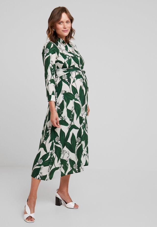 GLENN - Vestito lungo - green