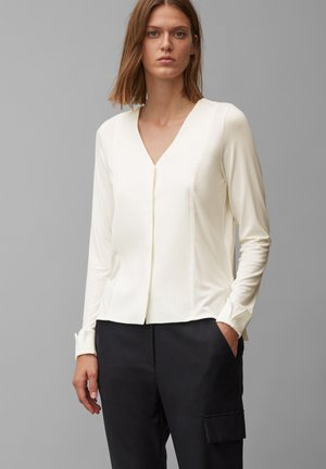 Blouse - clear white