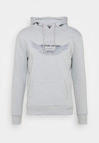 CLOSURE London - WINGED LOGO HOODY - Sweater - ice grey - 3
