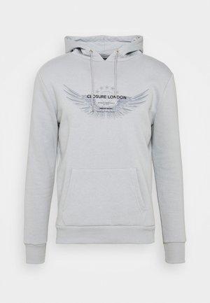 WINGED LOGO HOODY - Sweater - ice grey