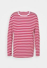 Marimekko - PITKÄHIHA  - Long sleeved top - white/red - 4