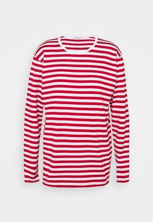 PITKÄHIHA  - Pitkähihainen paita - white/red