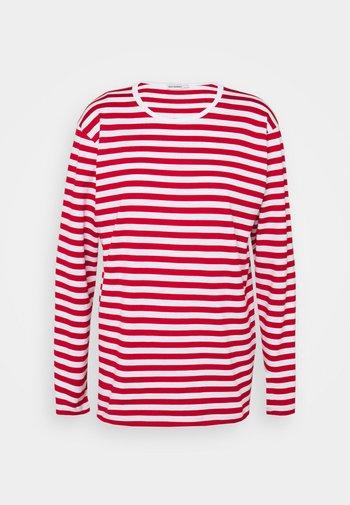 PITKÄHIHA  - Langarmshirt - white/red