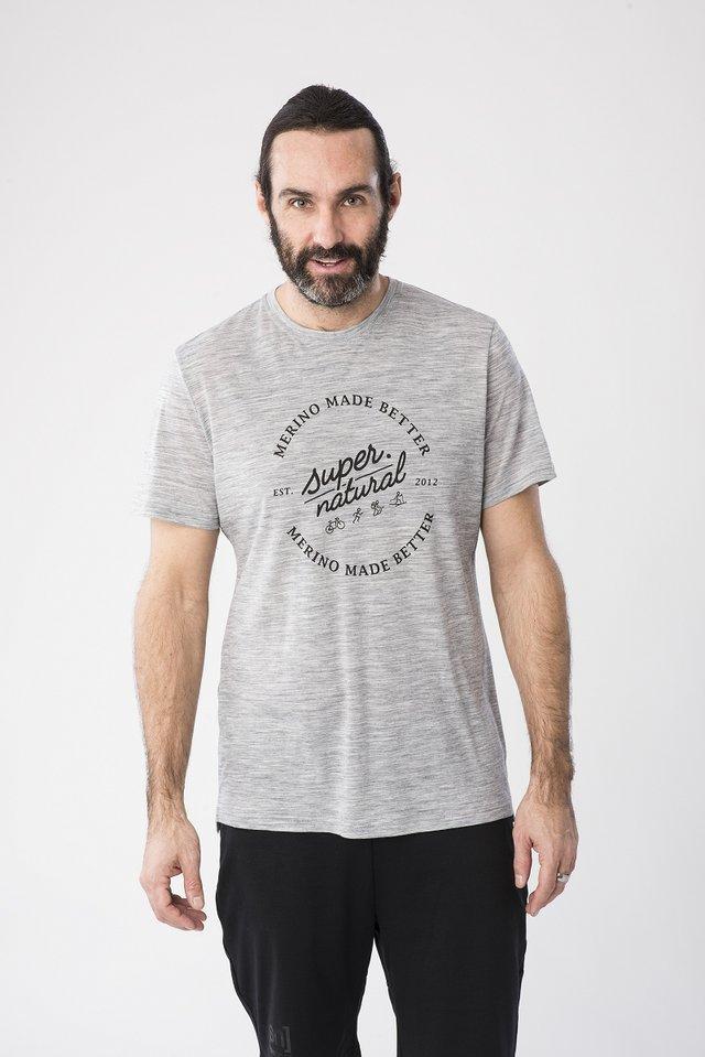 GRAPHIC - Print T-shirt - grey