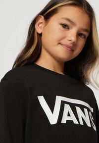 Vans - BY VANS CLASSIC LS BOYS - Pitkähihainen paita - black/white - 6