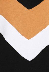 ONLY - ONLDAKOTA O NECK DRESS - Korte jurk - black/hazel/bright white - 2
