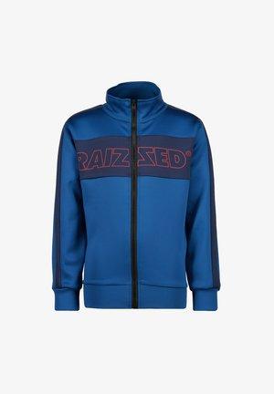 Sweater met rits - ultra blue