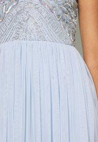 Lace & Beads - MAISY MIDI - Koktejlové šaty/ šaty na párty - light blue - 5