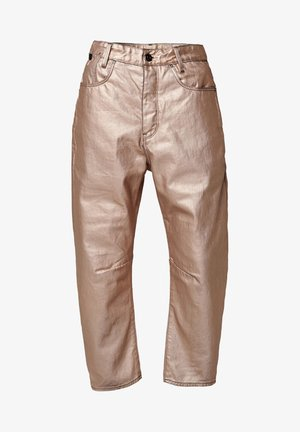 C-STAQ 3D BOYFRIEND CROP WMN - Relaxed fit jeans - gold