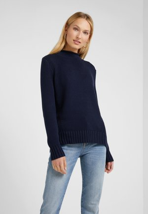 HERITAGE ROLLNECK - Pullover - navy