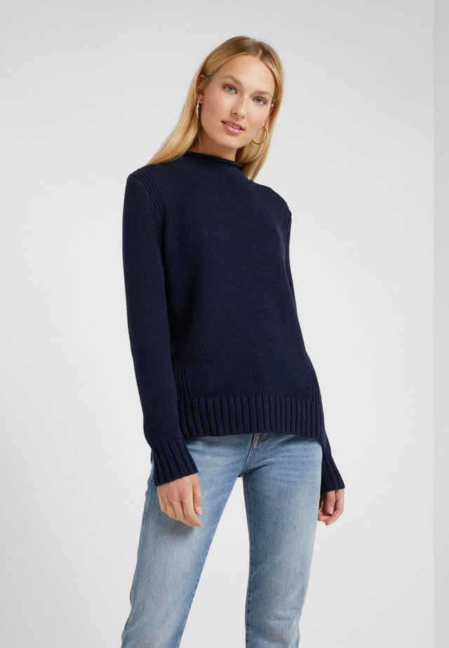 HERITAGE ROLLNECK - Maglione - navy