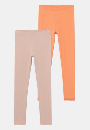 NKFVISTA 2 PACK - Leggings - Trousers - cantaloupe