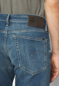 G-Star - 3301 STRAIGHT TAPERED - Straight leg jeans - faded spruce blue - 4