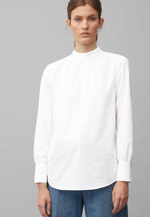 POPELINE - Blouse - white