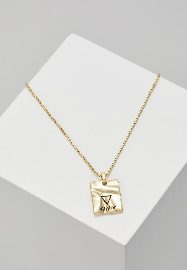 NECKLACE WATER - Collier - gold-coloured
