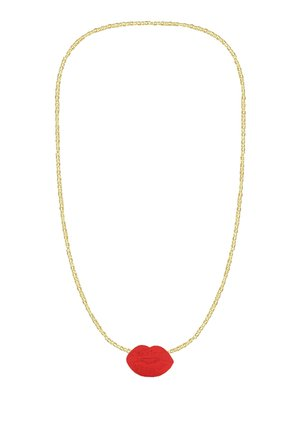 KISS - Necklace - red