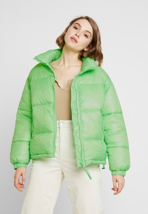 BENITA PUFFER JACKET - Vinterjakke - neon green