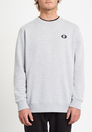 SNGL STN CREW - Sweatshirt - heather_grey