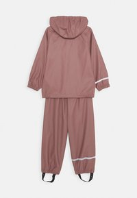 Name it - NKNDRY RAIN SET - Rain trousers - wistful mauve - 1