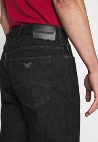 Emporio Armani - Jeans a sigaretta - black - 5