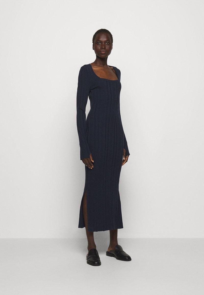 HUGO - SHERLEE - Maxi dress - open blue