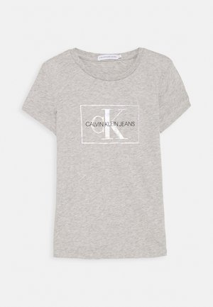 SMALL MONOGRAM - T-shirts print - grey