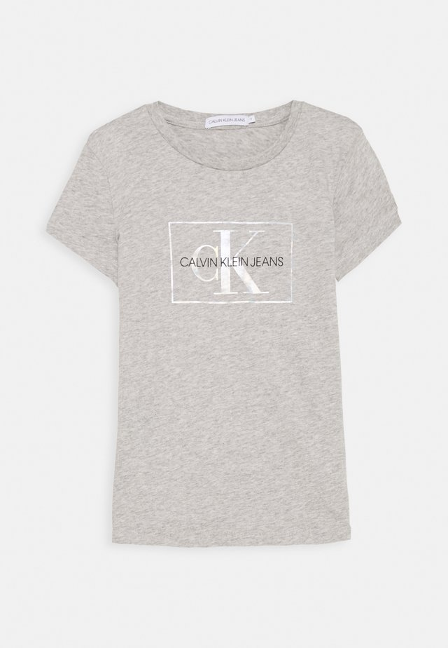 SMALL MONOGRAM - Camiseta estampada - grey