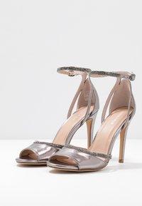 Anna Field - Sandaler med høye hæler - gunmetal - 4