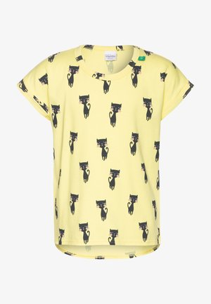 CATS - T-shirts print - yellow