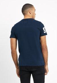 Superdry - PREMIUM GOODS DUO LITE TEE - Print T-shirt - navy - 2