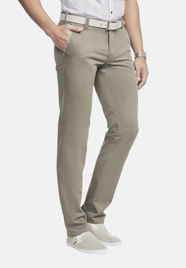 NEW YORK - Trousers - taupe