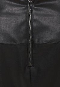 MY TRUE ME TOM TAILOR - SKIRT LOOK - A-line skirt - deep black - 2