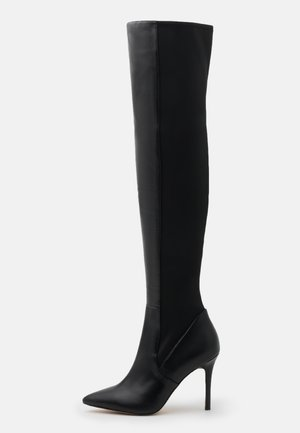 IDEEZA - Over-the-knee boots - black
