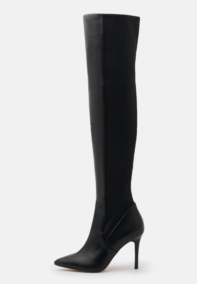 ALDO - IDEEZA - Overknee laarzen - black