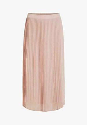A-line skirt - pale mauve