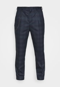 Shelby & Sons - MAYS TROUSER - Trousers - navy - 4
