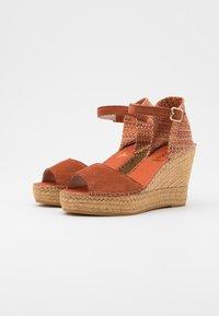 Vidorreta - High heeled sandals - arcilla - 2