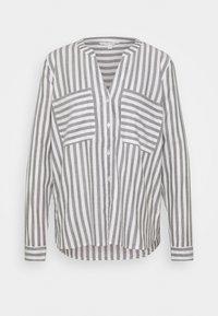 TOM TAILOR DENIM - COZY - Blouse - grey/white - 0