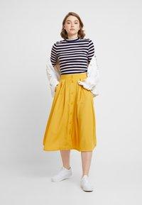 Monki - SIGRID SKIRT - A-line skirt - mustard - 1